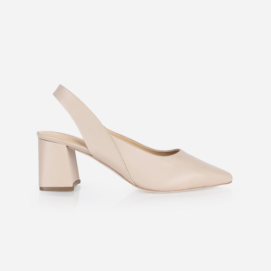 The Statement Slingback Petal Pink Ready To Wear