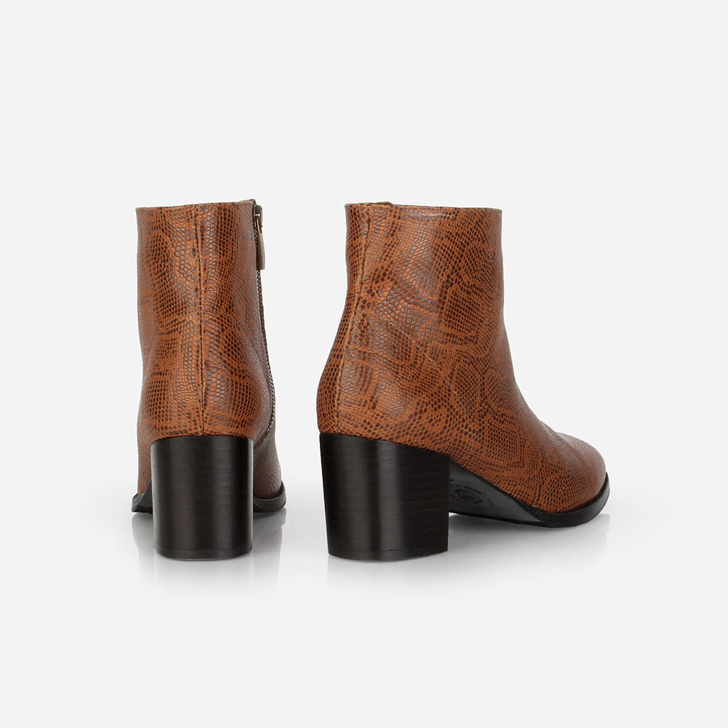 The Nines Boot Brown Snake Ready To Wear