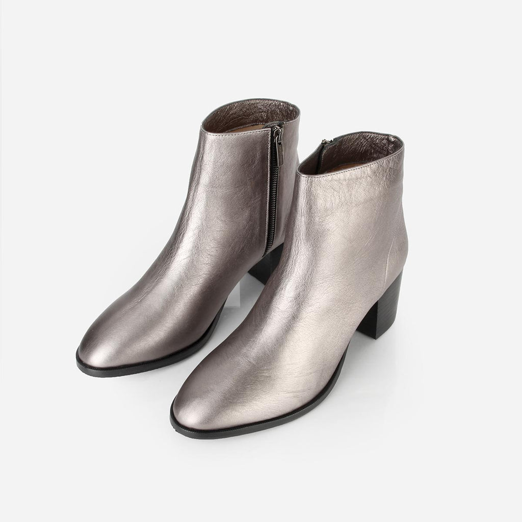 The Nines Boot Pewter Ready To Wear