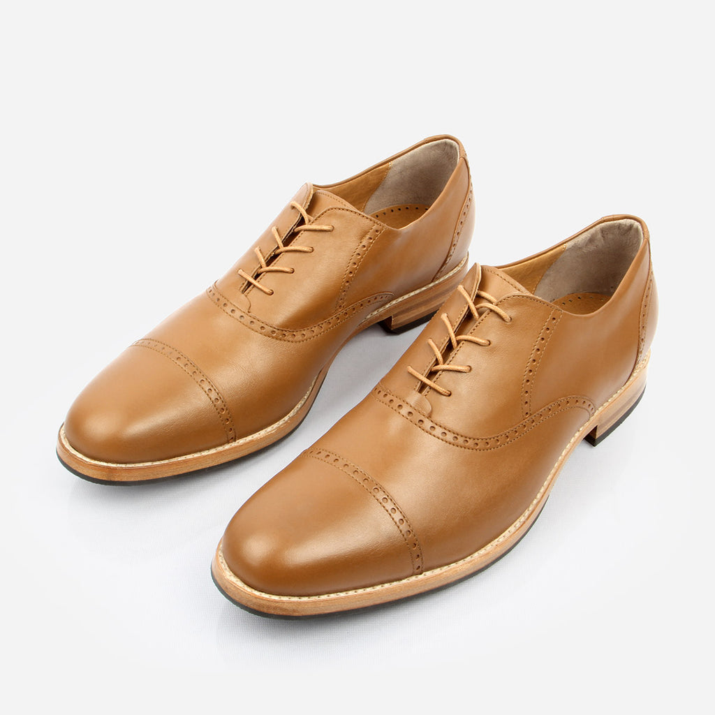The Toronto Brogue Tan Ready To Wear