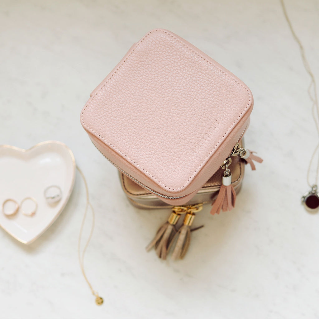 The Travel Jewelry Case Blush