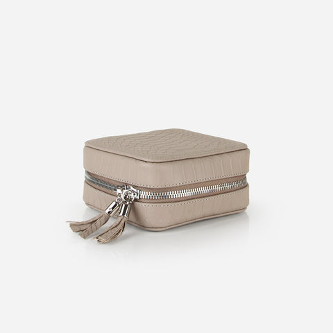 The Travel Jewelry Case Stone Python