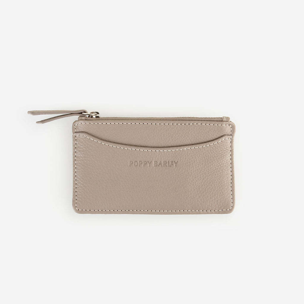 The Travel Zip Wallet Stone