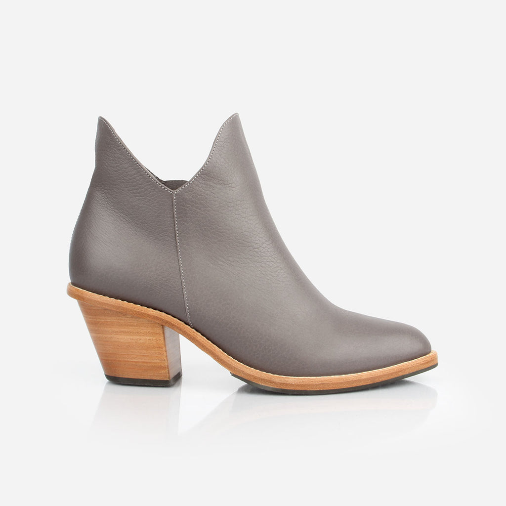 The Two Point Five Ankle Boot Slate Grey Pebble Made To Order