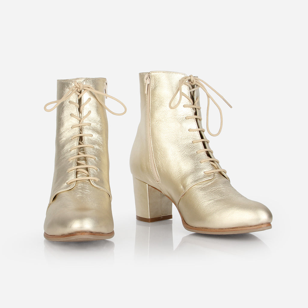 The Victoriana Boot 24 Karat Ready To Wear