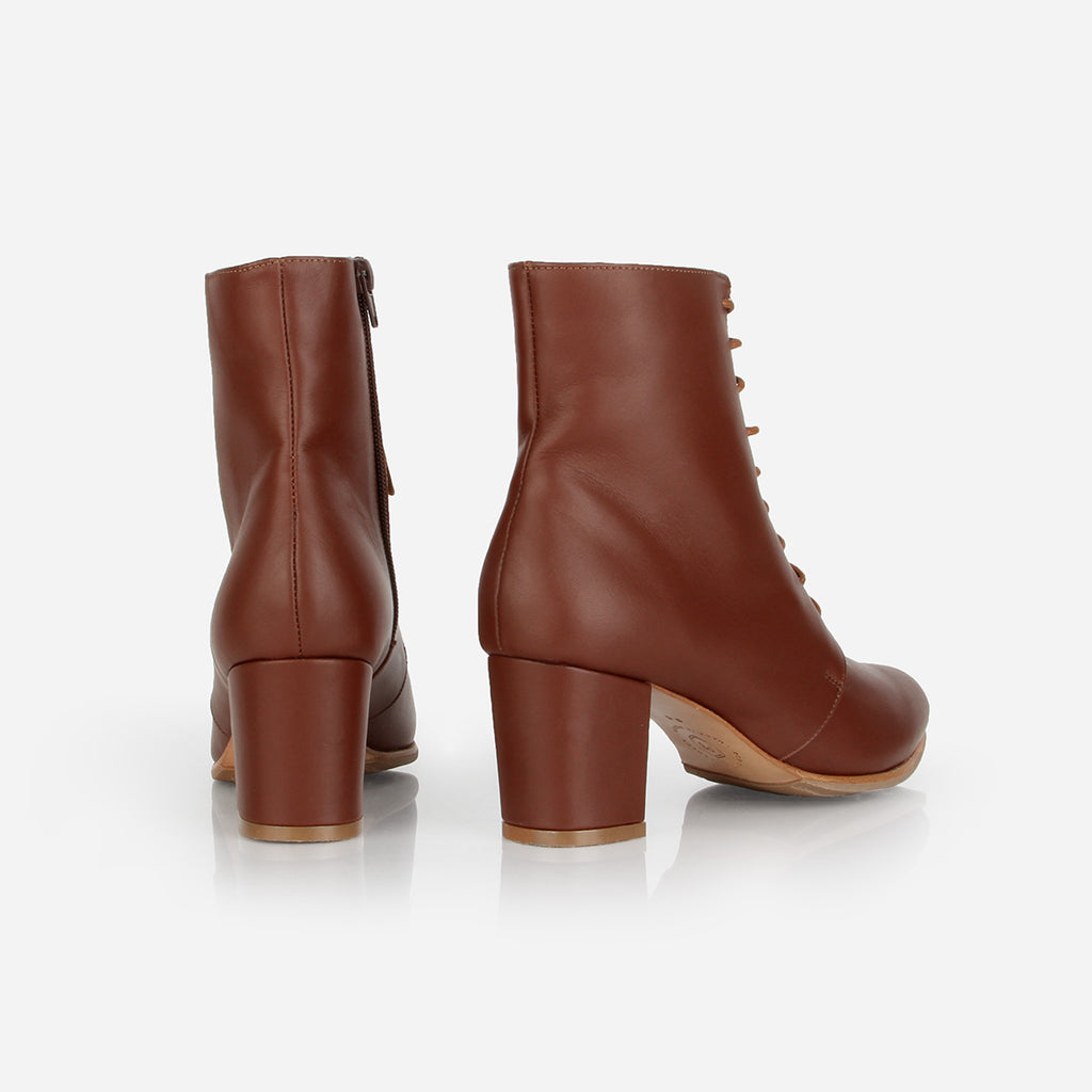 The Victoriana Boot Danish Brown Water Resistant Ready To Wear