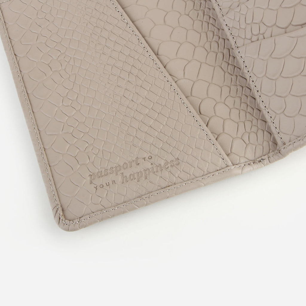 The Voyager Passport Holder Stone Python