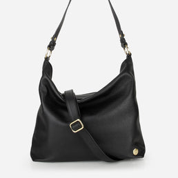 The Weekend Tote Black Pebble