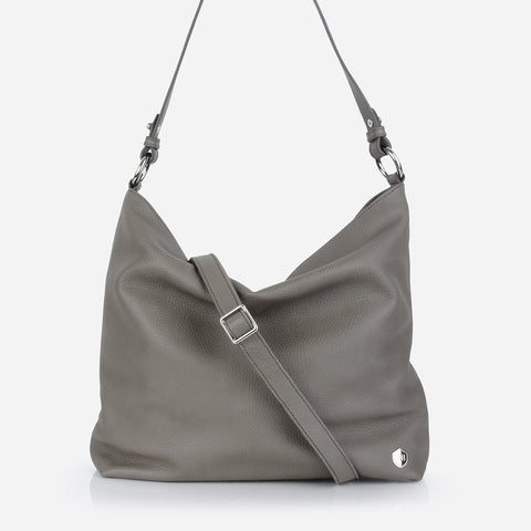 The Weekend Tote Smoke Grey Pebble