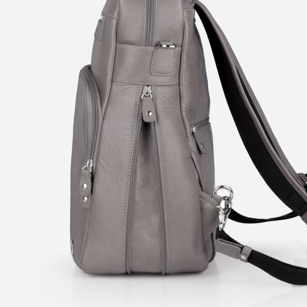 The Backpack Slate Grey Pebble