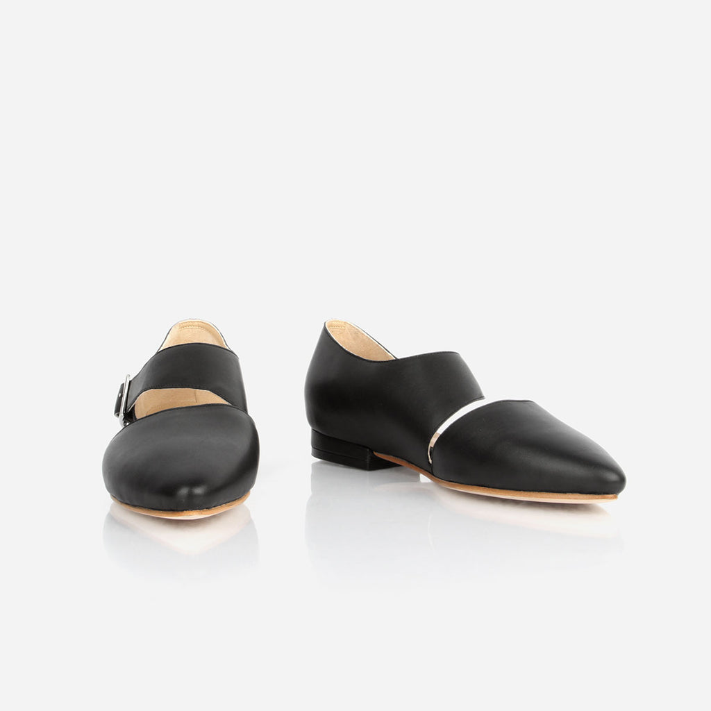 The Beltline Cutout Flat Black Ready To Wear