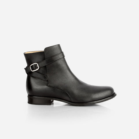 The Moto Boot Black Water Resistant Made To Order