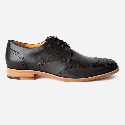 The Calgary Wingtip Black Made To Order