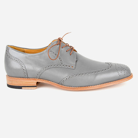 The Calgary Wingtip Grey Made To Order