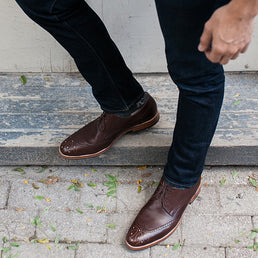 The Calgary Wingtip Tan Made To Order