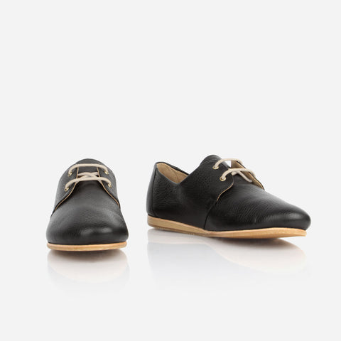 The Eyelet Oxford Black Pebble Ready To Wear