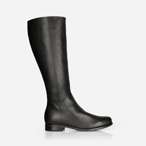 The Kensington Boot Black Water Resistant Made To Order