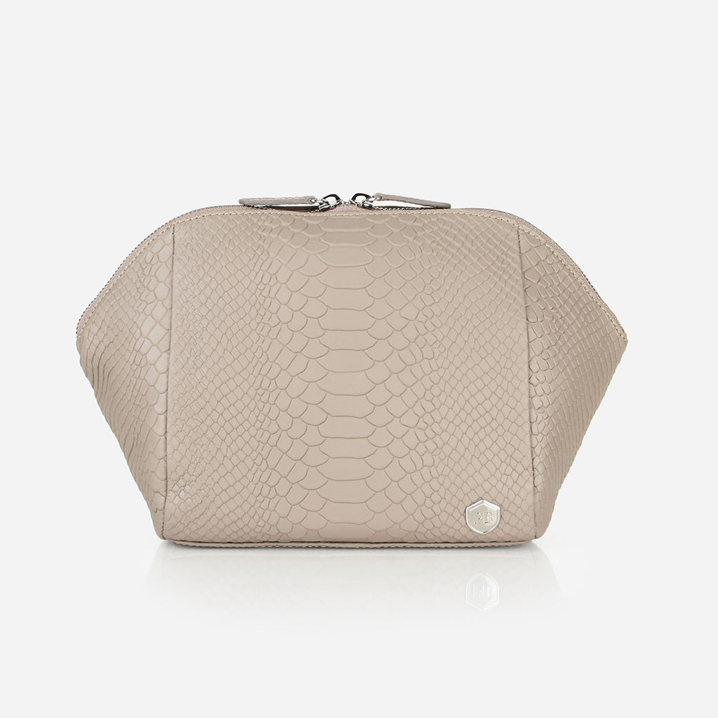 The Large Cosmetic Case Stone Python