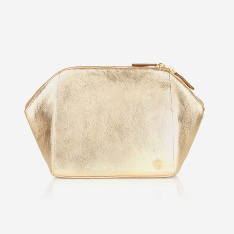 The Large Cosmetic Case Champagne