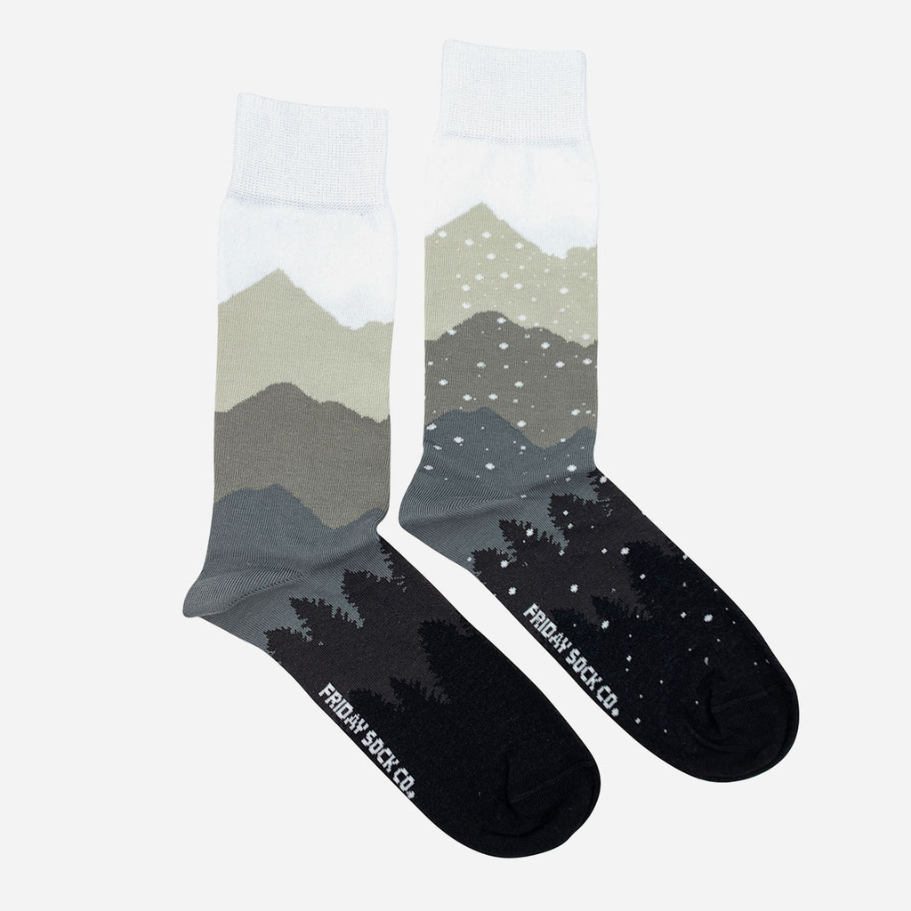 Recycled Mountain & Snow Socks