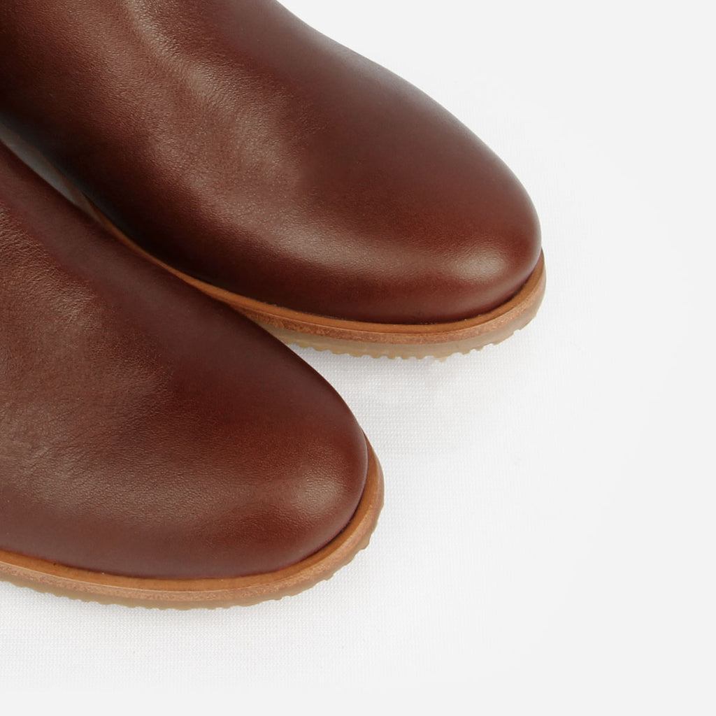 The Riversdale Boot Chestnut Made To Order