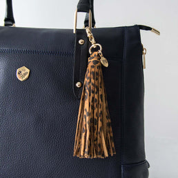 The Leather Tassel Leopard