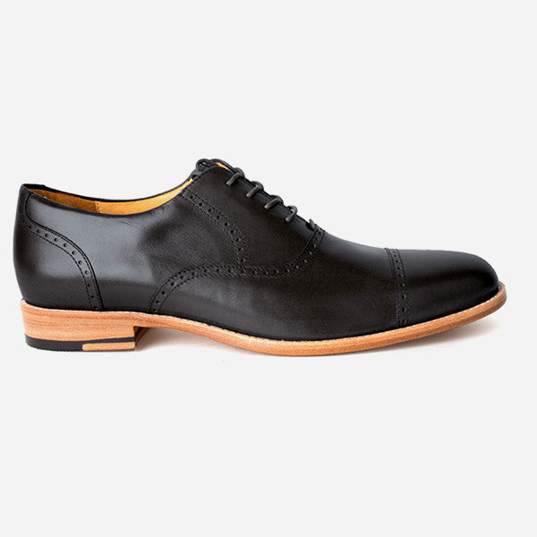 The Toronto Brogue Black Ready To Wear