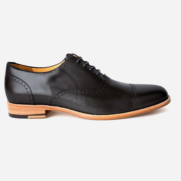 The Toronto Brogue Black Made To Order