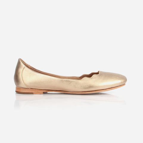 The Yaletown Ballet Flat- Poppy Barley