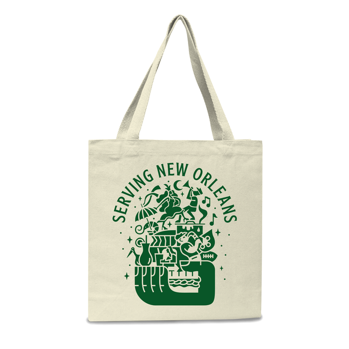 Serving New Orleans Tote