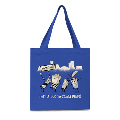 Let's All Go to Canal Place Tote