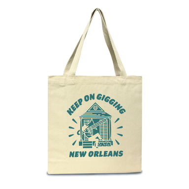 Keep on Gigging Tote