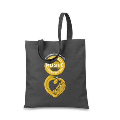 """We love music, so we support musicians"" Tote"