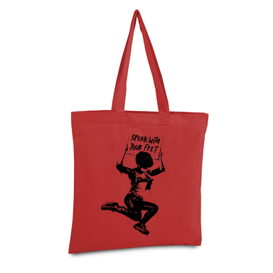 Speak With Your Feet Tote