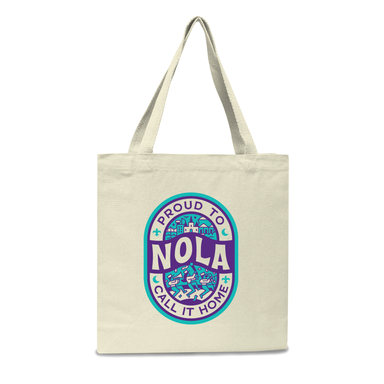 New Orleans: Proud to Call It Home Tote