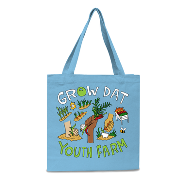 Grow Dat Youth Farm Tote
