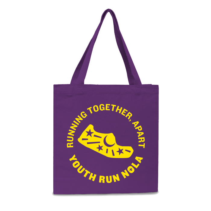 Running Together, Apart Tote