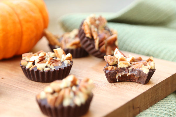 Pumpkin Spiced Caramel Chocolates