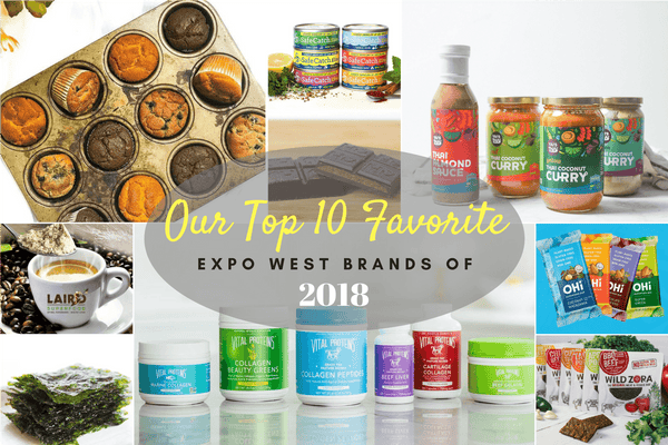 Our Top 10 Favorite Expo West Brands of 2018