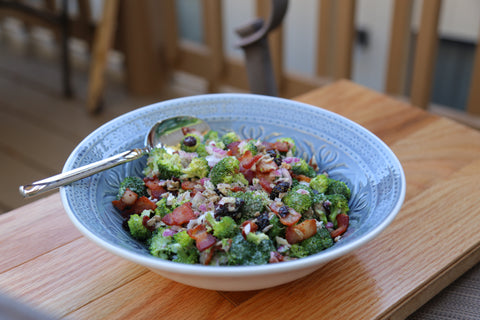 Bacon and Broccoli Paleo Salad Recipe | Paleo By Maileo