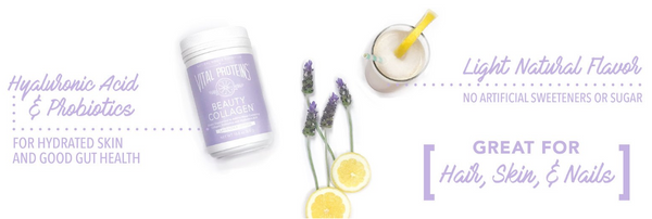 Lavender Lemon Beauty Water - Vital Proteins | Paleo By Maileo