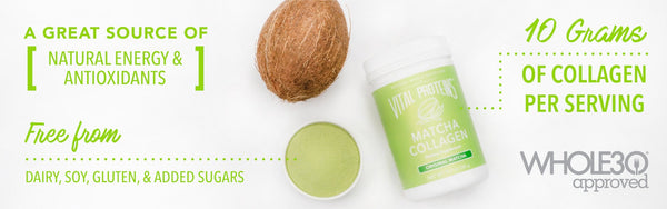 Original Matcha Collagen - Vital Proteins | Paleo By Maileo