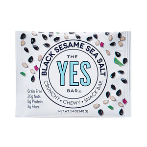 Black Sesame Sea Salt Snack Bar - 1.4oz The Yes Bar - Paleo By Maileo