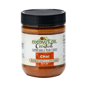 Chai Coconut Oil - 10oz Coconut Oil Creations - Paleo By Maileo