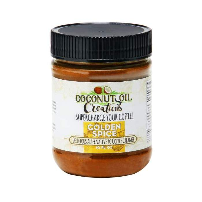 Golden Spice Coconut Oil - 10oz Coconut Oil Creations - Paleo By Maileo