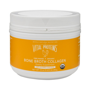 Chicken Bone Broth Collagen (Organic) - 10oz Vital Proteins - Paleo By Maileo