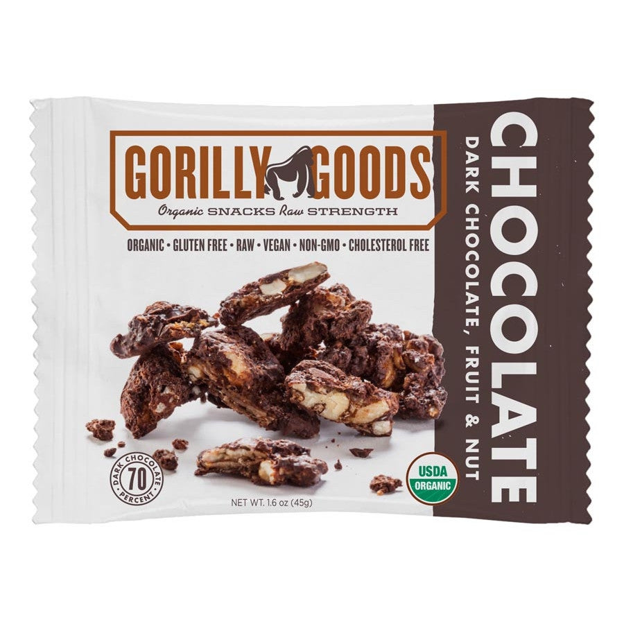 Forest Dark Chocolate/Fruit/Nut Snack (Organic) - 1.6oz Gorilly Goods - Paleo By Maileo