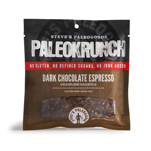 Dark Chocolate Espresso PaleoKrunch Bar - 1.5oz Steve's PaleoGoods - Paleo By Maileo