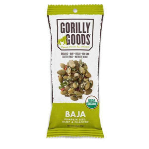 Baja Trail Mix - Pumpkin Seed/Hemp/Cilantro (Organic) - 1.3 oz Gorilly Goods - Paleo By Maileo