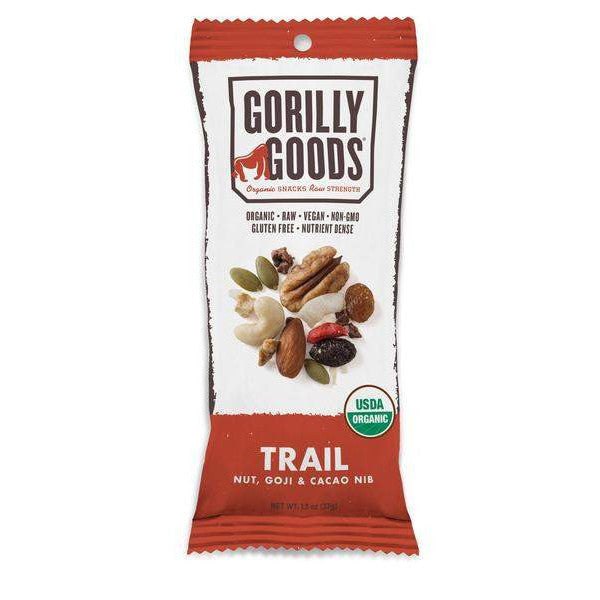 Trail Mix - Nut/Goji/Cacao (Organic) - 1.3 oz Gorilly Goods - Paleo By Maileo